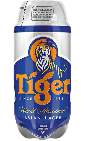 Tiger - SUB TORP Keg - DrinksShop.co.uk