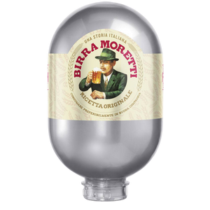 Birra Moretti Keg 8L - For Blade Machine