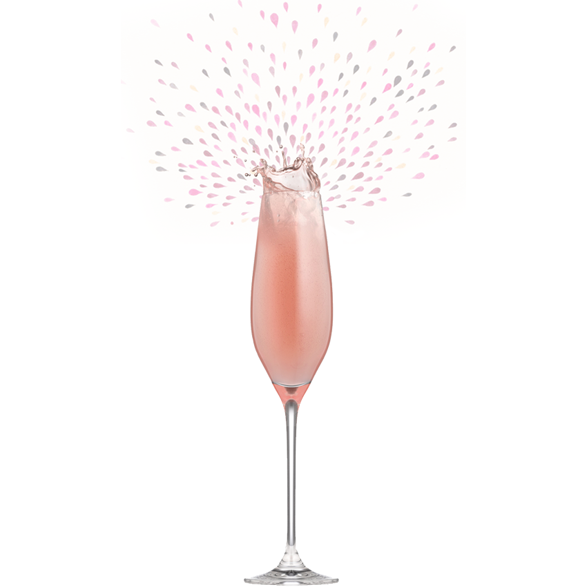 Charlemagne Rosé Sparkling Perry 75cl by  Drinks Shop
