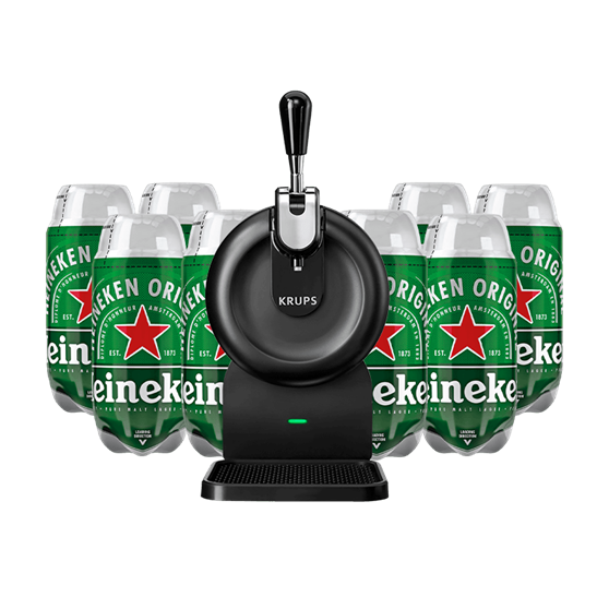 The SUB Compact with 8 x Heineken Bundle, Beer Dispensers & Taps by Drinks Shop