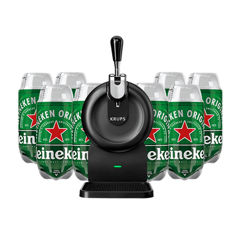The SUB Compact with 8 x Heineken Bundle - DrinksShop.co.uk