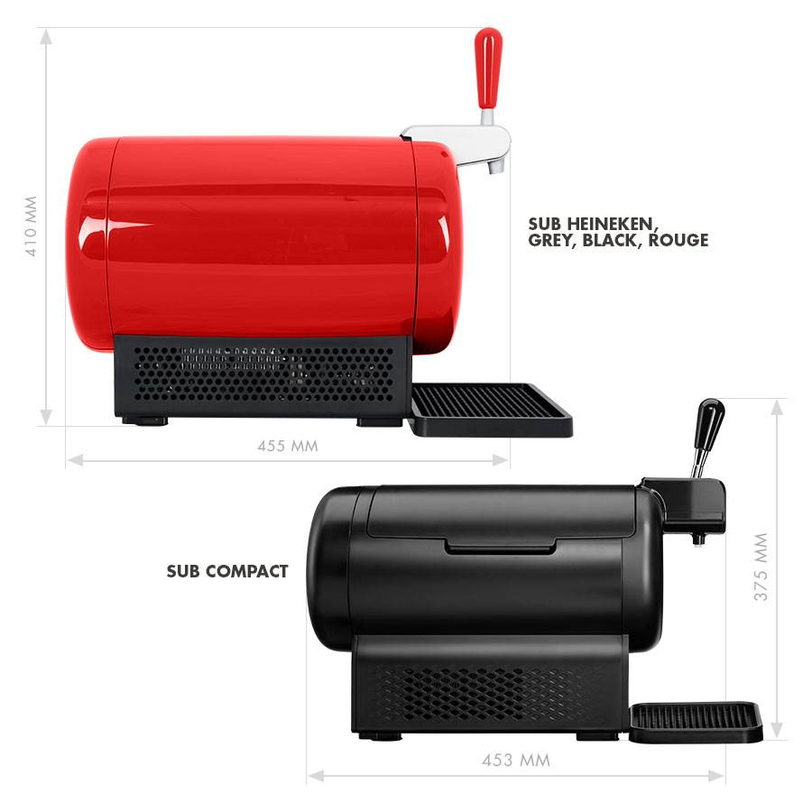 The SUB (Red) by Heineken by  Drinks Shop