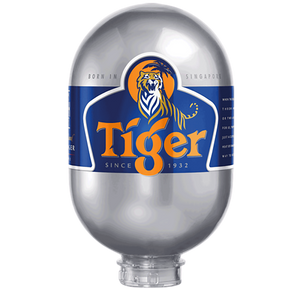 Tiger 8L Keg Bundle of Six - DrinksShop.co.uk