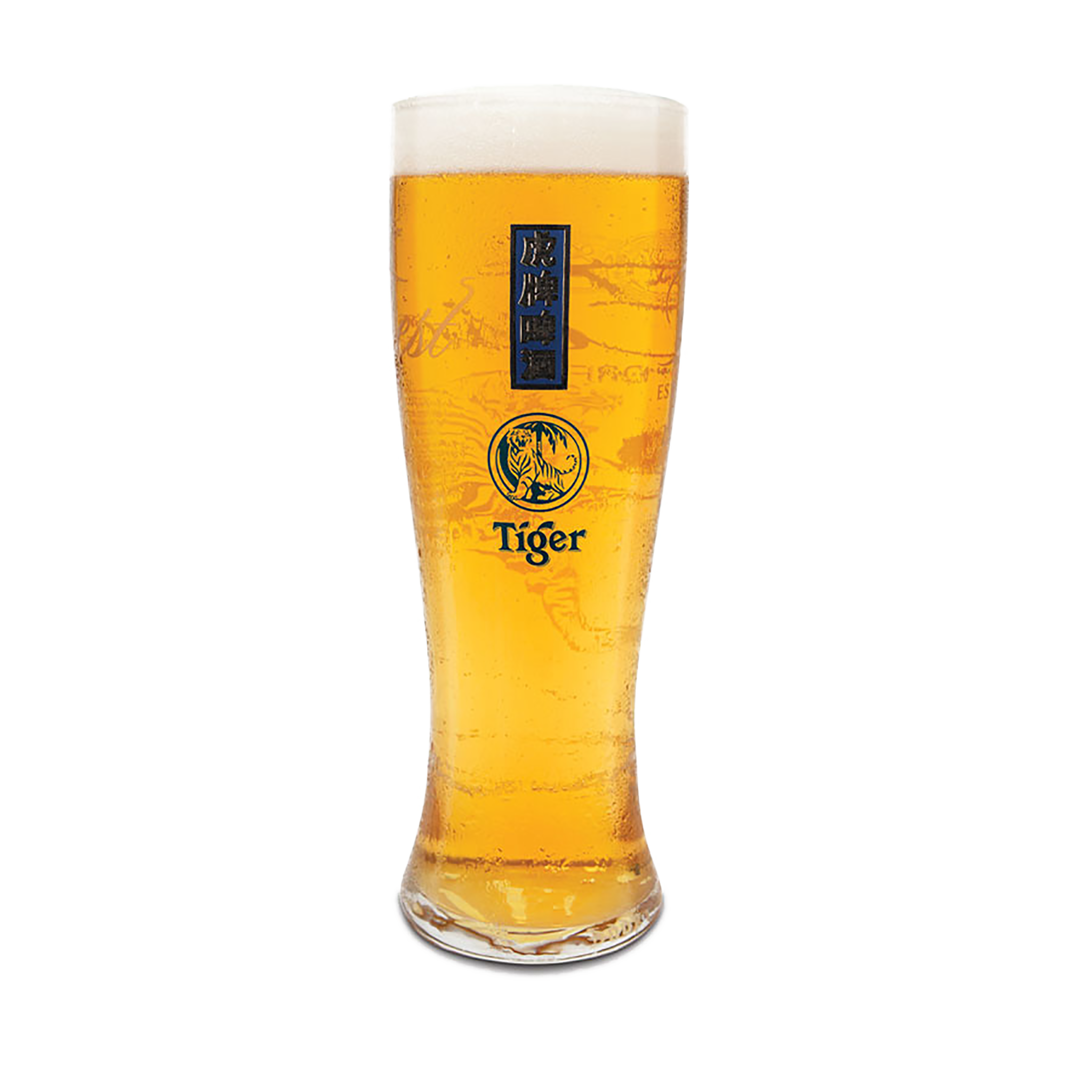 Tiger Beer Pint Glasses by  Drinks Shop
