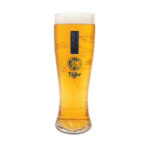 Tiger Beer Schooner Glasses - DrinksShop.co.uk