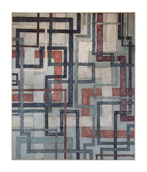 Untitled (Geometric Grey)