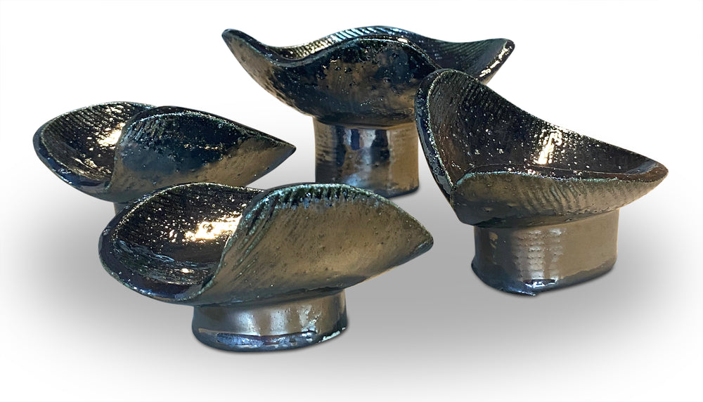 Set of 4 Mini Paladuim Vessel Coupes 9