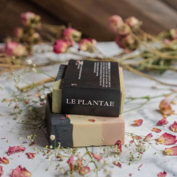 Le Plantae Spices, cedar & rose soap
