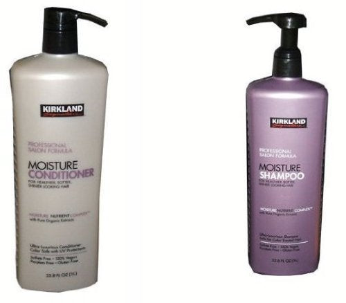 Kirkland Signature Professional Salon Formula Moisture Shampoo or Conditioner (33.8 Oz Each) (shampoo & Conditioner Set) By 1count