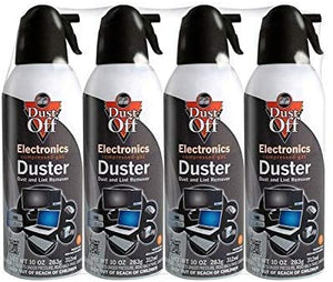 Dust-Off, Disposable Duster, 10 oz,12-Pack.