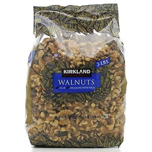 Kirkland Signature Nuts (Kirkland Walnuts, 3 Pounds)