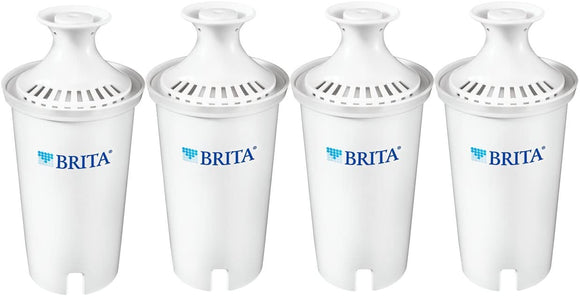 Brita Standard Replacement Water Filter for Pitchers, 4 Count