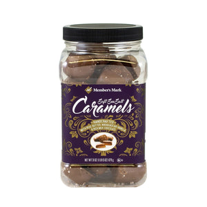 Member's Mark Sea Salt Caramels Milk-Chocolate, 31 Ounce