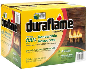Duraflame Natural Fire Logs 6 Lb - Case of 9 (?n? ???k)