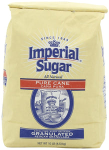 Imperial Extra Fine Sugar/10 lbs, Granulated, 160 oz