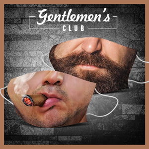 2x Gentlemen´s Club - Stoffmasken Bundle