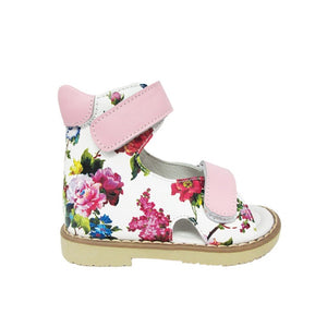 Flat Sandals Shoes Printed Leather Baby  Beauty