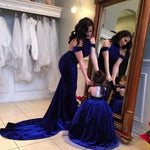 Load image into Gallery viewer, Mother Daughter Dress Backless Ball Gown Velvet Flower Girls