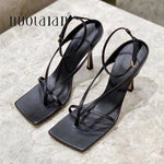 Load image into Gallery viewer, 2020 Summer Women Pumps Sexy Gladiator High Heel Sandals Shoes Women Thin High Heels Open Toe Sandal Lady Ankle Strap Pump Shoes