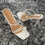 Load image into Gallery viewer, 2020 Summer Pumps New Sexy Gladiator Sandals Shoes Women Thin High Heels Open Toe Sandal Lady Ankle Strap Pump Shoes Size 35-42
