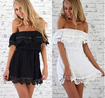 Load image into Gallery viewer, Lace Casual Sexy Mini Evening Above Knee SummerDress