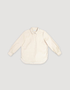 CORDUROY SHIRT (NATURAL WHITE)