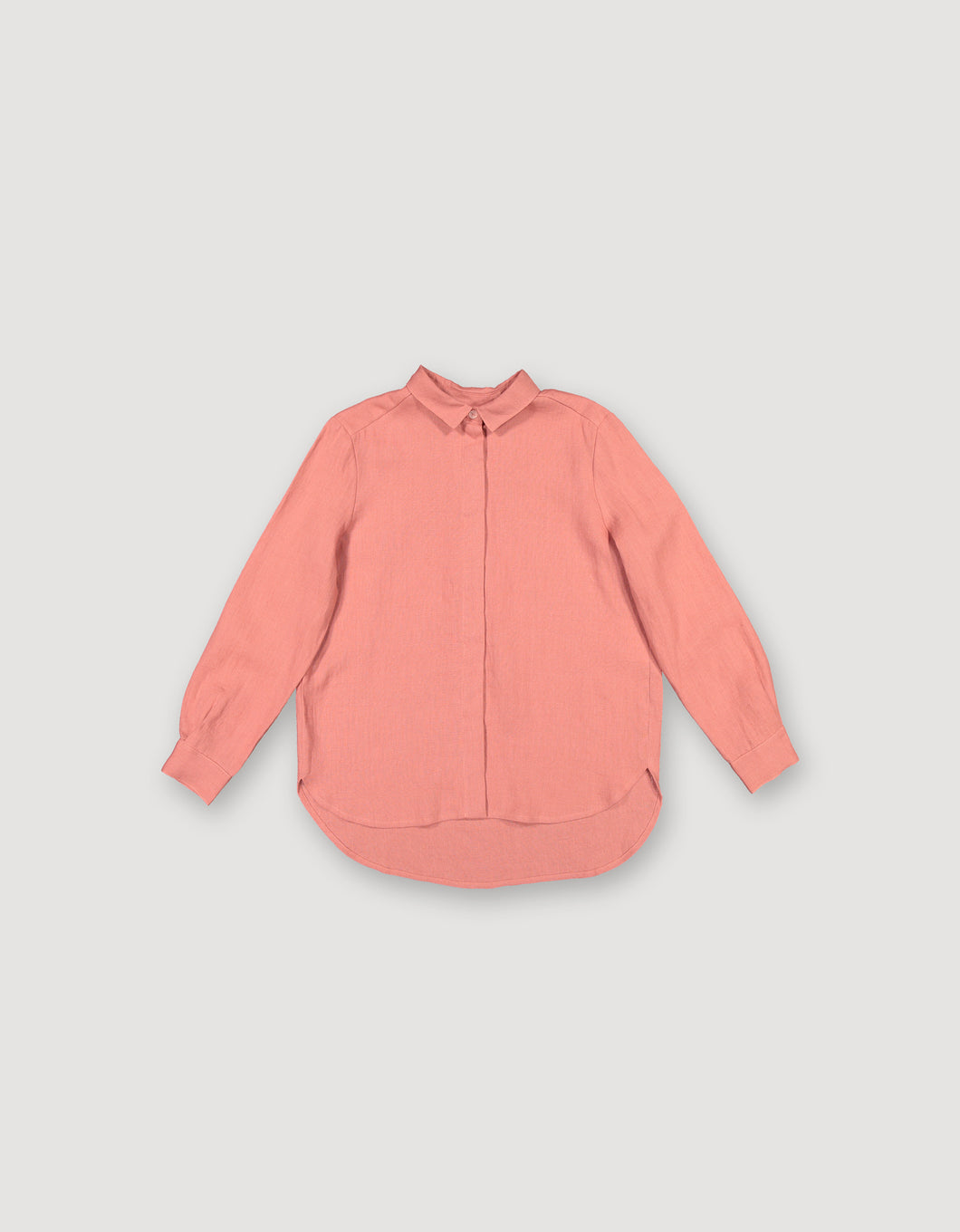BASIC SHIRT (BURNT SALMON)