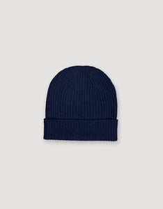 CASHMERE HAT (BLUE)