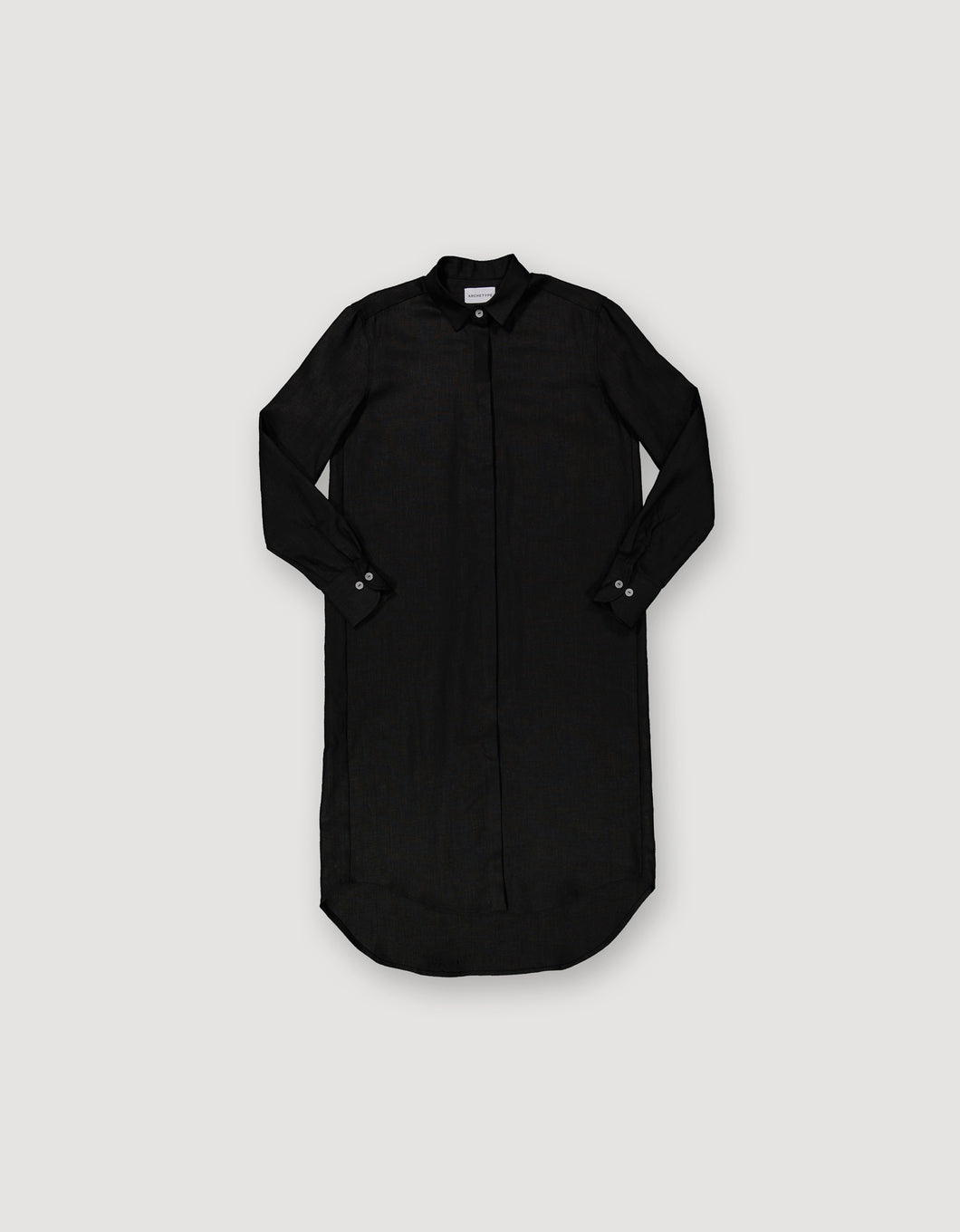 SHIRT DRESS (BLACK)