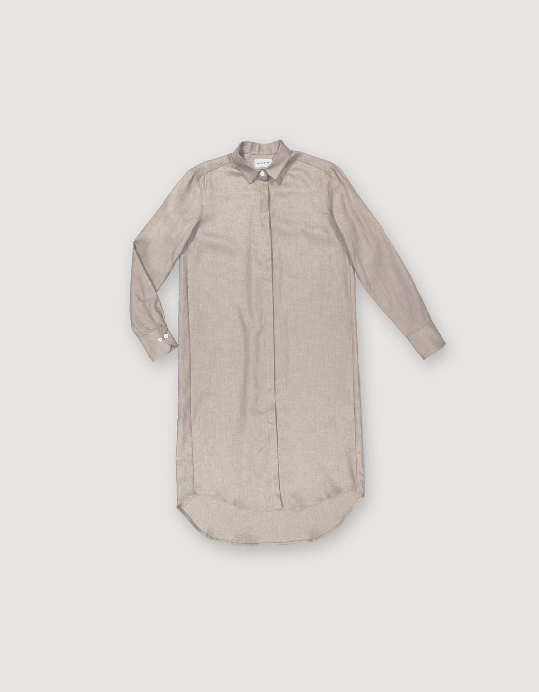SHIRT DRESS (GREY)