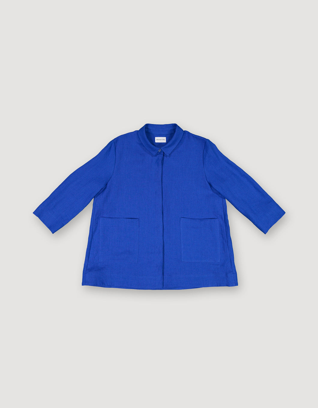 SHIRT JACKET (BLUE)