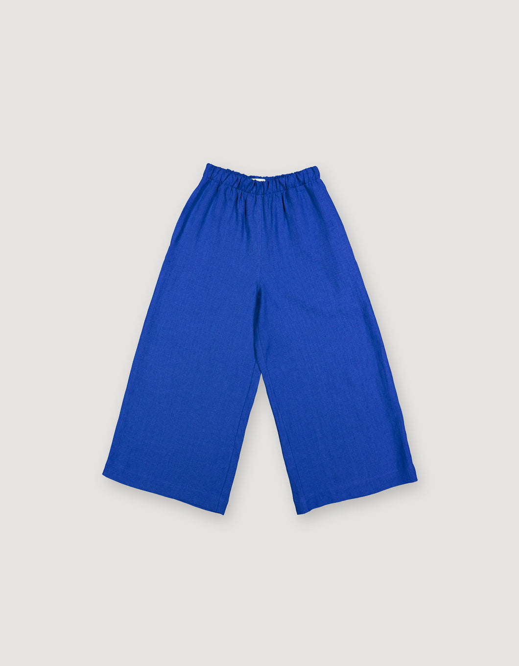 WIDE LEG TROUSERS (BLUE)