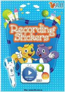 Recording Stickers (New 2017 Collection)