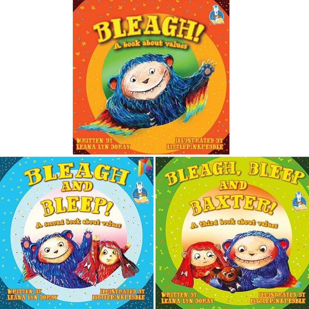 BLEAGH! A book about values (Books 1~3)