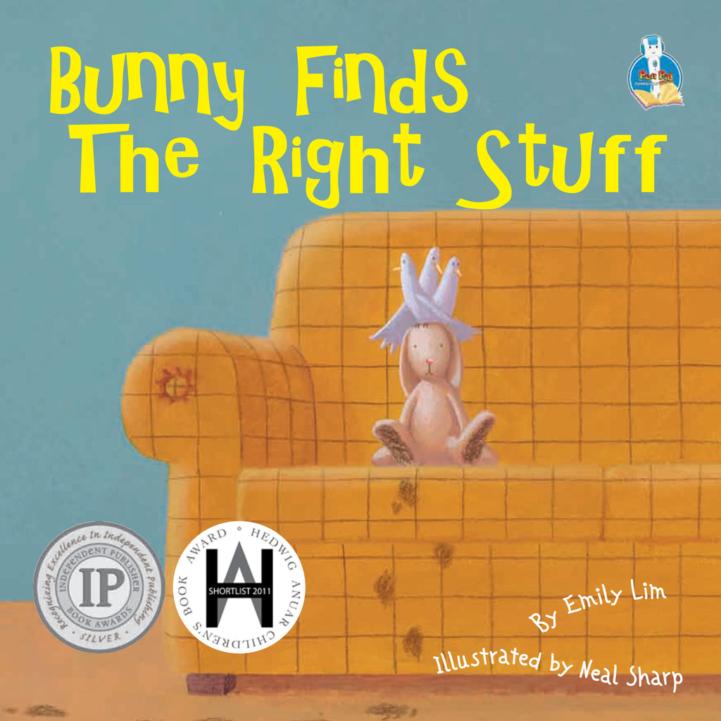 Emily Lim's Toys Series: Bunny Finds the Right Stuff