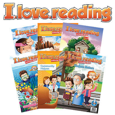 PROMO: I.Love.Reading Volumes 1 & 2 (Issues 1~12)