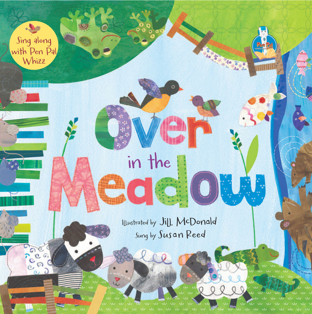 JLB Barefoot Books (Sing-Along Series): Over in the Meadow