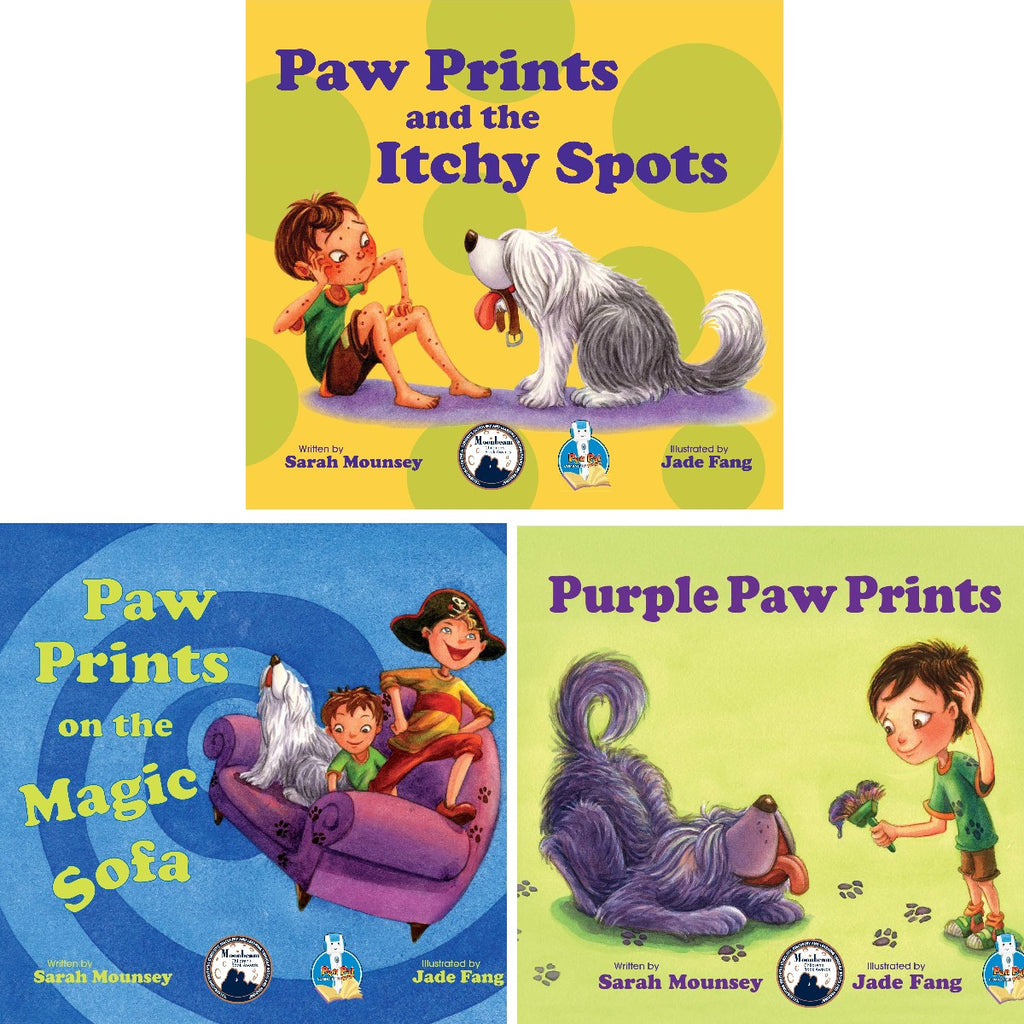 Paw Prints Series (Books 1~3)