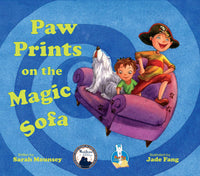 JLB Paw Prints Series: Paw Prints on the Magic Sofa