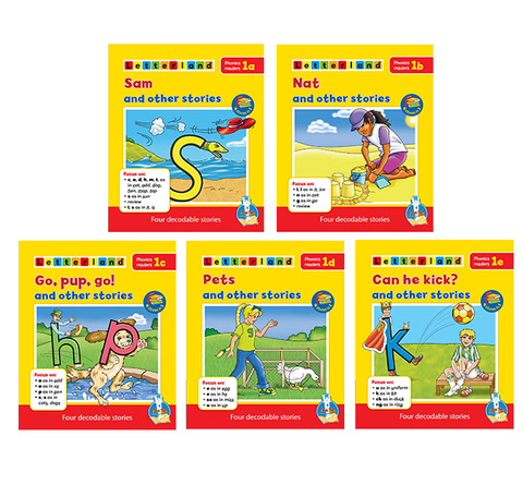 Letterland Phonics Readers Level 1