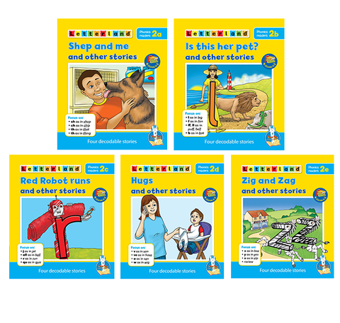 Letterland Phonics Readers Level 2