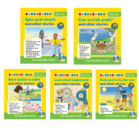 Letterland Phonics Readers Level 3