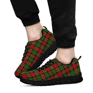 Christmas Tartan Red Plaid Sneakers