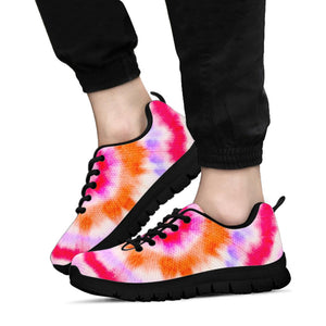 Rainbow Hippie Tie Dye Sneakers