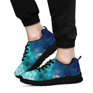 Blue Galaxy Space Sneakers