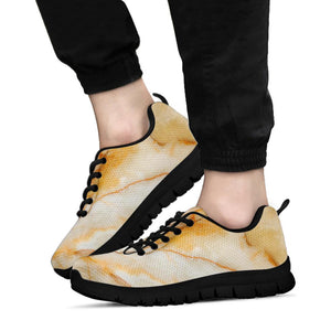 Brown Marble Sneakers