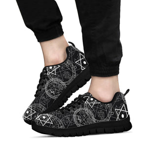Pentagram Gothic Witch Sneakers