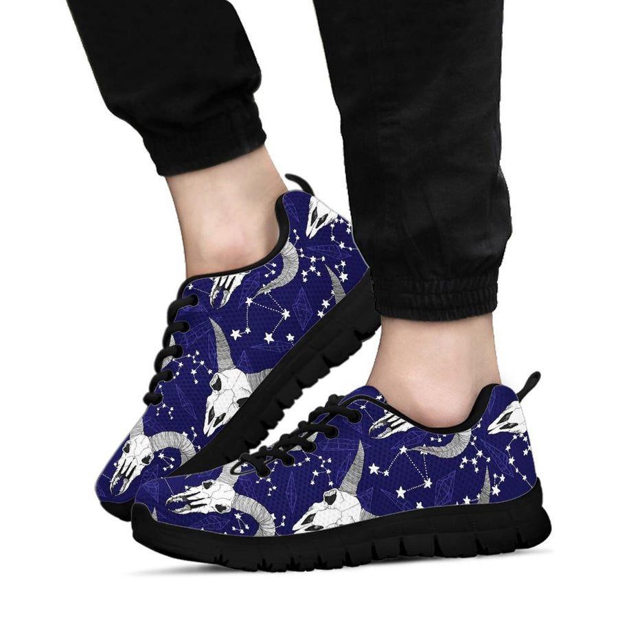 Capricorn Astrology Magic Witch Sneakers