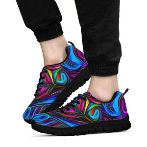 Abstract Psychedelic Sneakers