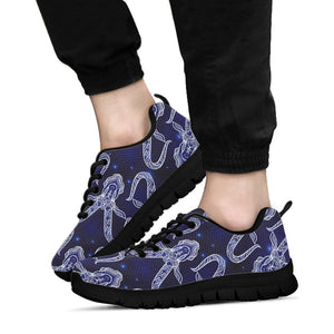 Capricorn Gothic Witch Sneakers